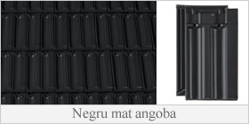 CREATON - Negru mat angoba